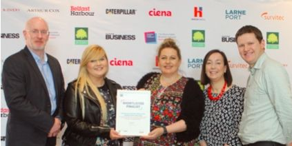 KWC Shortlisted for Business in the Community Award