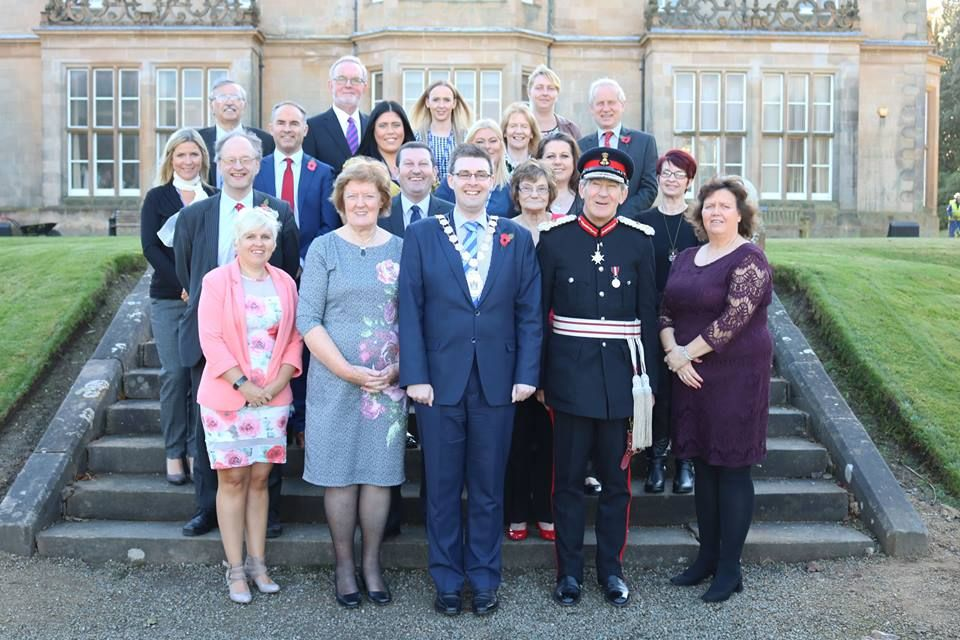 KWC Receive QAVS Crystal & Certificate from Lord Lieutenant