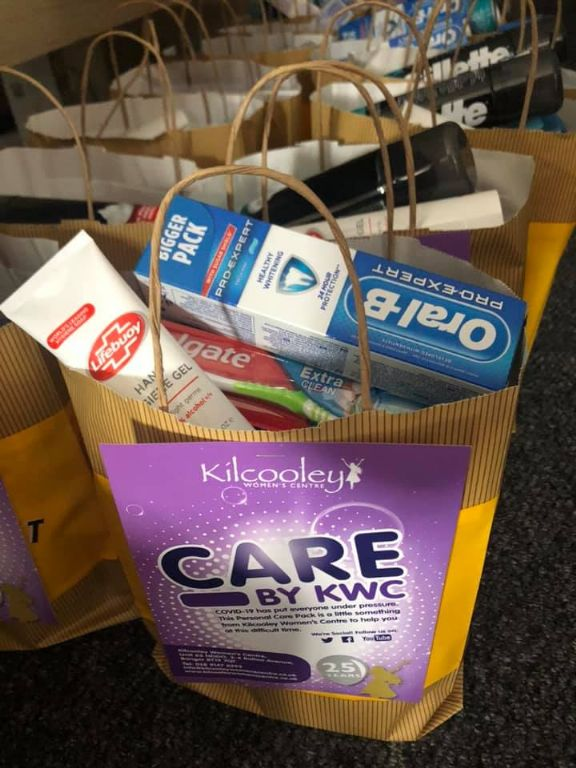 Covid Care Bags Distributed in Rural Villages