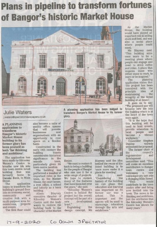 Planning Lodged - The Old Market House