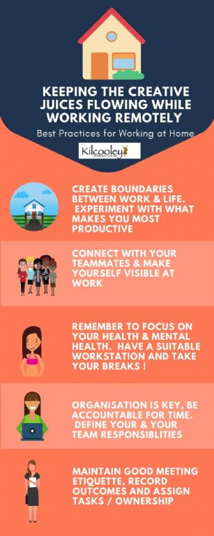 best practices for working at home