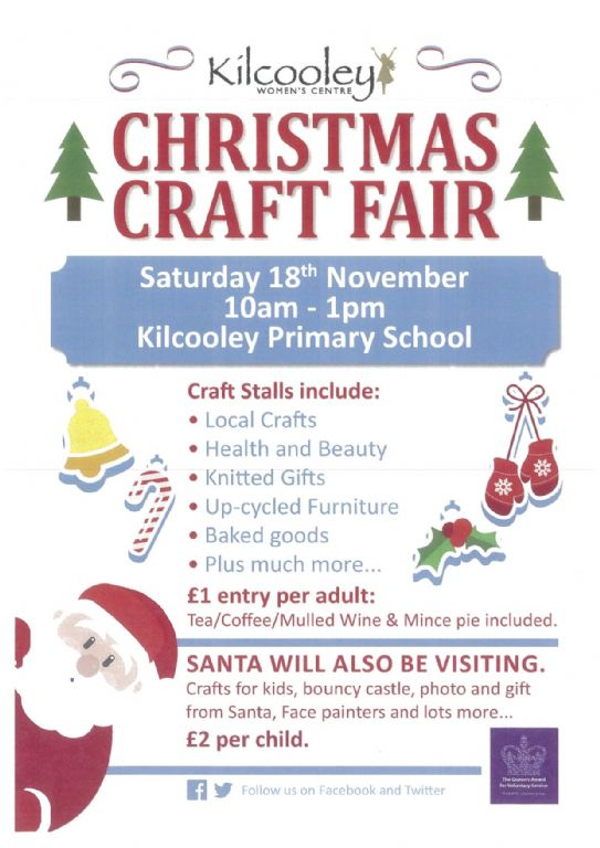 Calling all Crafters for our Christmas Craft Fair!!!
