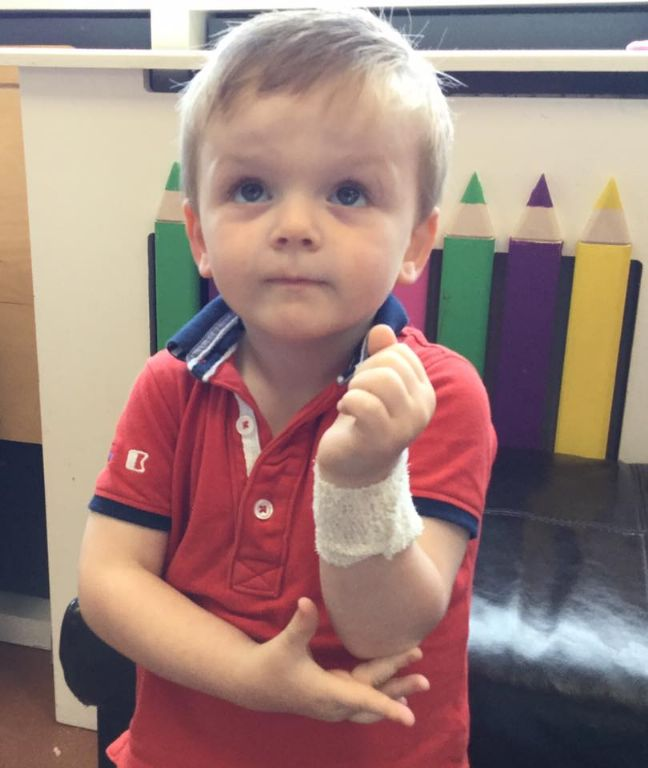 Early Years Learning About First Aid