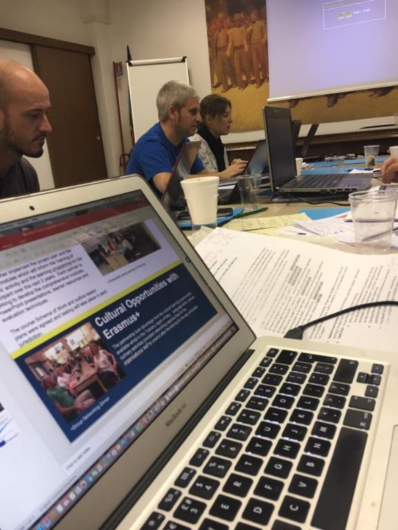 KWC Erasmus Project Meets in Florence