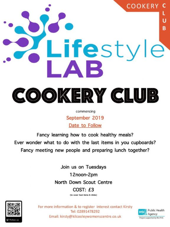 lifestyle lab cookery