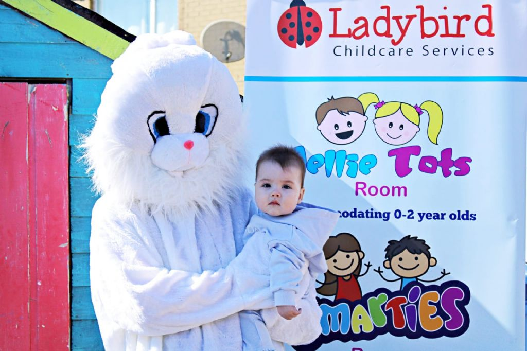 Easter Bunny Visits Early Years Centre