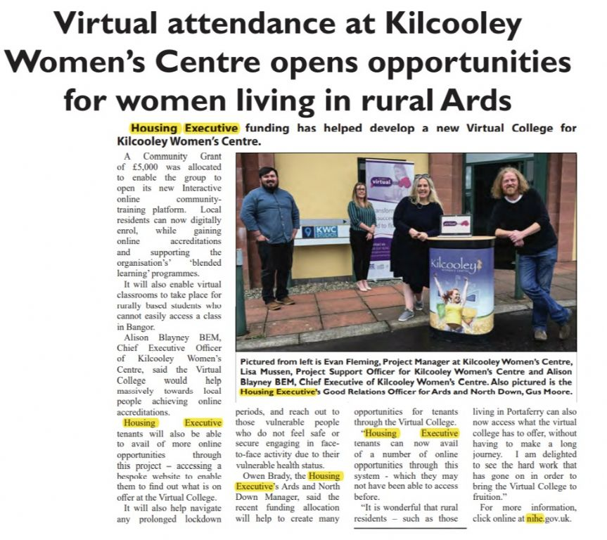 Women's Virtual College - Rural Solutions
